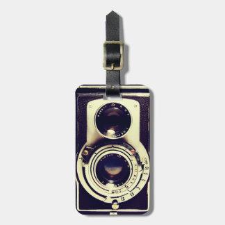 Vintage Camera Travel Bag Tag