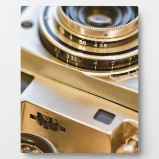 Vintage Camera with style! Plaque