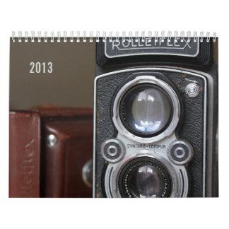 Vintage Cameras Calendar 2013