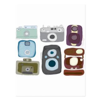 Vintage-Cameras.jpg Postcard