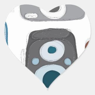 Vintage-Cameras.jpg Heart Sticker