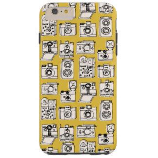 Vintage Cameras - Mustard Yellow / Andrea Lauren Tough iPhone 6 Plus Case