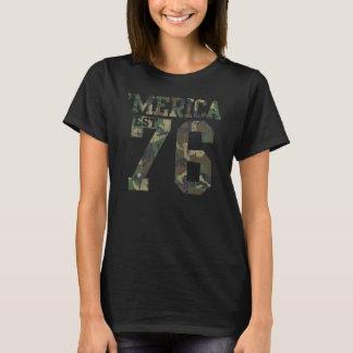 Vintage Camouflage 'Merica Est. 1776 T-Shirt