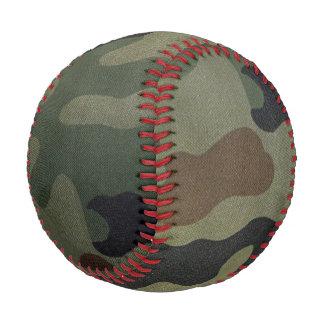 Vintage Camouflage Pattern Baseball