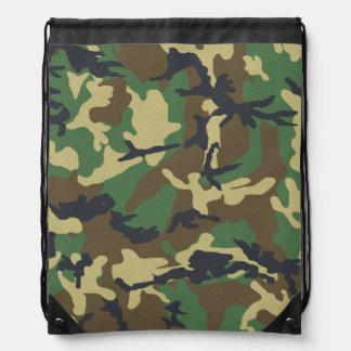 Vintage Camouflage Pattern Backpack