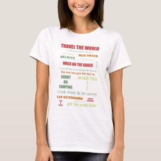Vintage Camper Manifesto T-Shirt
