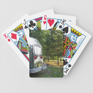 Vintage Camper Tin Can Shiny RV Trailer Deck Cards Bicycle Playing Cards