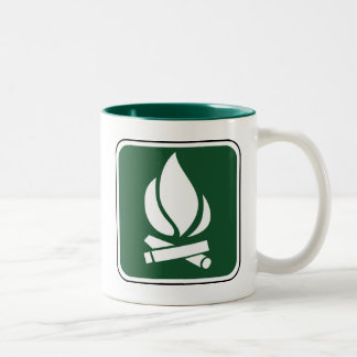 Vintage Campfire Sign Coffee Mug