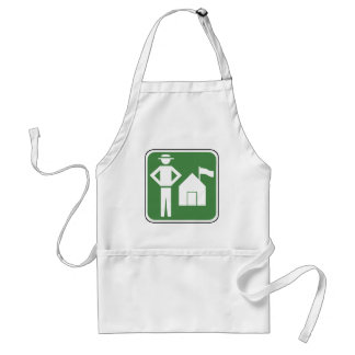 Vintage Camping Sign Aprons