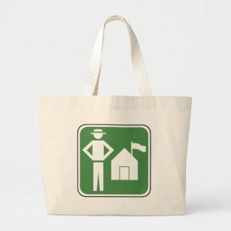 Vintage Camping Sign Bag