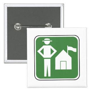 Vintage Camping Sign Pins