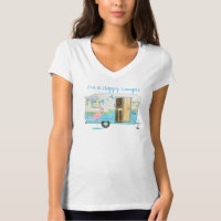Vintage Camping Trailer T-Shirt