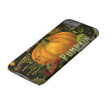 Vintage Can Label Art, Butterfly Pumpkin Vegetable Barely There iPhone 6 Case