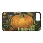 Vintage Can Label Art, Butterfly Pumpkin Vegetable iPhone 8/7 Case