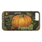 Vintage Can Label Art, Butterfly Pumpkin Vegetable iPhone 8 Plus/7 Plus Case