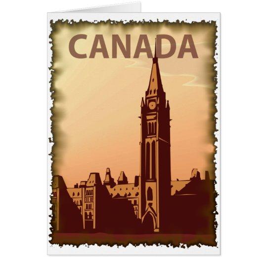 Vintage Canada Card