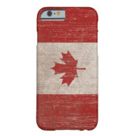 Vintage Canada Flag Barely There iPhone 6 Case