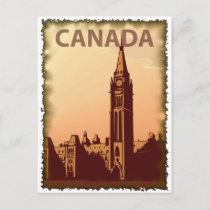 Vintage+canada+postcard