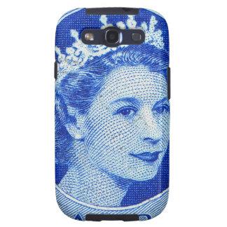 Vintage Canada Queen Elizabeth II Postage Stamp Galaxy S3 Case