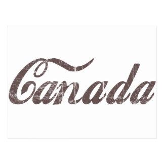 Vintage Canadá Tarjeta Postal