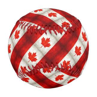 Vintage Canadian Flag Baseball