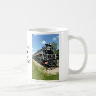 Vintage Canadian Locomotive Mug