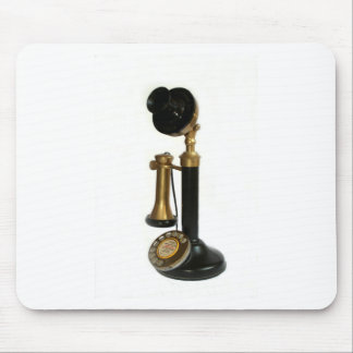 Vintage Candlestick Phone Mouse Pad