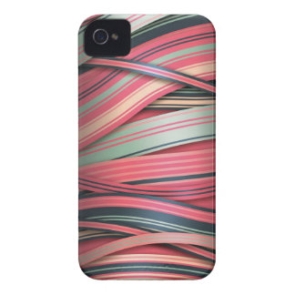 Vintage Candy Floating Ribbons iPhone 4 Case-Mate Cases