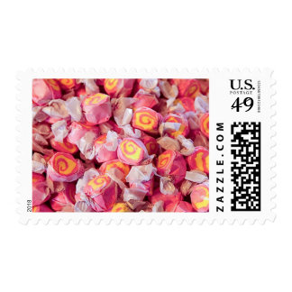 Vintage candy in old fashioned candy shop 2 stamp