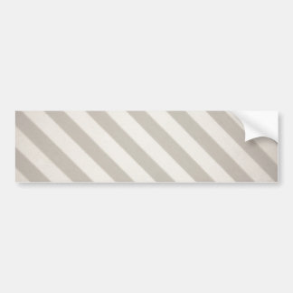 Vintage Candy Stripe Dove Gray Primitive Stripes Bumper Stickers