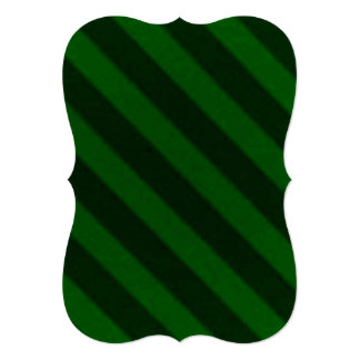 Vintage Candy Stripe Emerald Green Cards