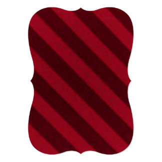 Vintage Candy Stripe Wallpaper Cranberry Red Cards