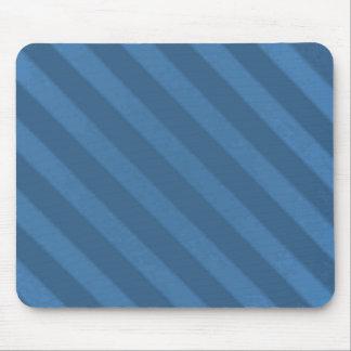 Vintage Candy Stripe Wallpaper Powder Blue Grunge Mouse Pad