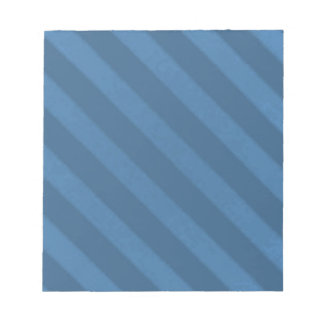 Vintage Candy Stripe Wallpaper Powder Blue Grunge Memo Notepad