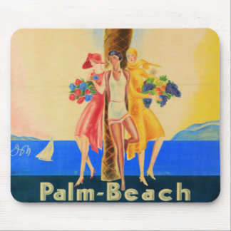Vintage Cannes French Travel Mouse Pad
