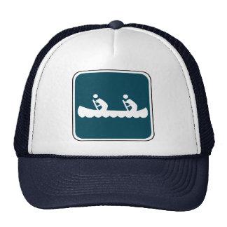 Vintage Canoe Sign Hats