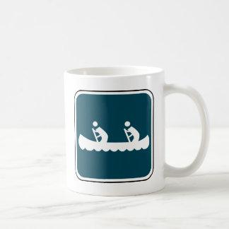 Vintage Canoe Sign Mug