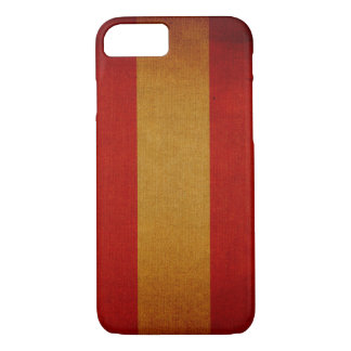 Vintage canvas deck chair pattern iPhone 8/7 case