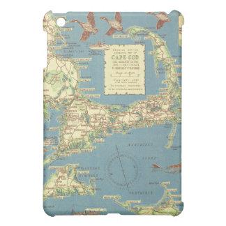 Vintage Cape Cod Map (1940) iPad Mini Cover