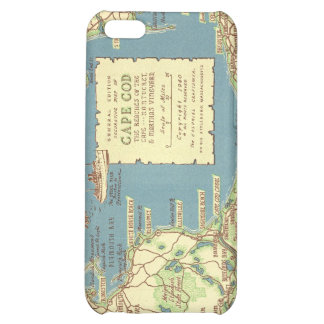 Vintage Cape Cod Map 1940 iPhone 5C Cover