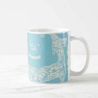 Vintage Cape Cod Map Coffee Mug