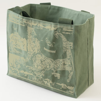 Vintage Cape Cod Map Tote