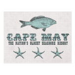 Vintage Cape May Seashore Resort Postcard