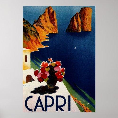 Vintage Capri French Travel