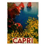 Vintage Capri L'Isola del Sole Italia Postal
