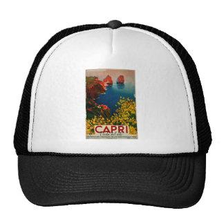 Vintage Capri L'Isola del Sole Italy Trucker Hat