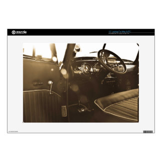 """Vintage Car 15"""" Laptop Skin for PC and Mac"""