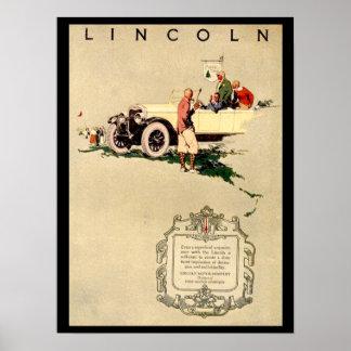 Vintage Car 1920's Poster