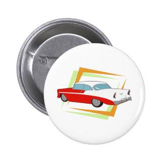 Vintage Car 2 Inch Round Button