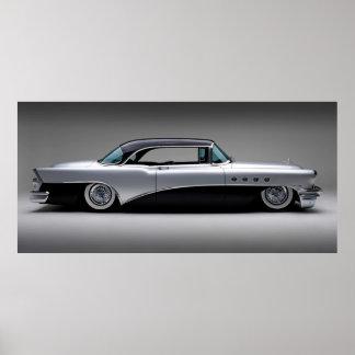 Vintage car 53 poster